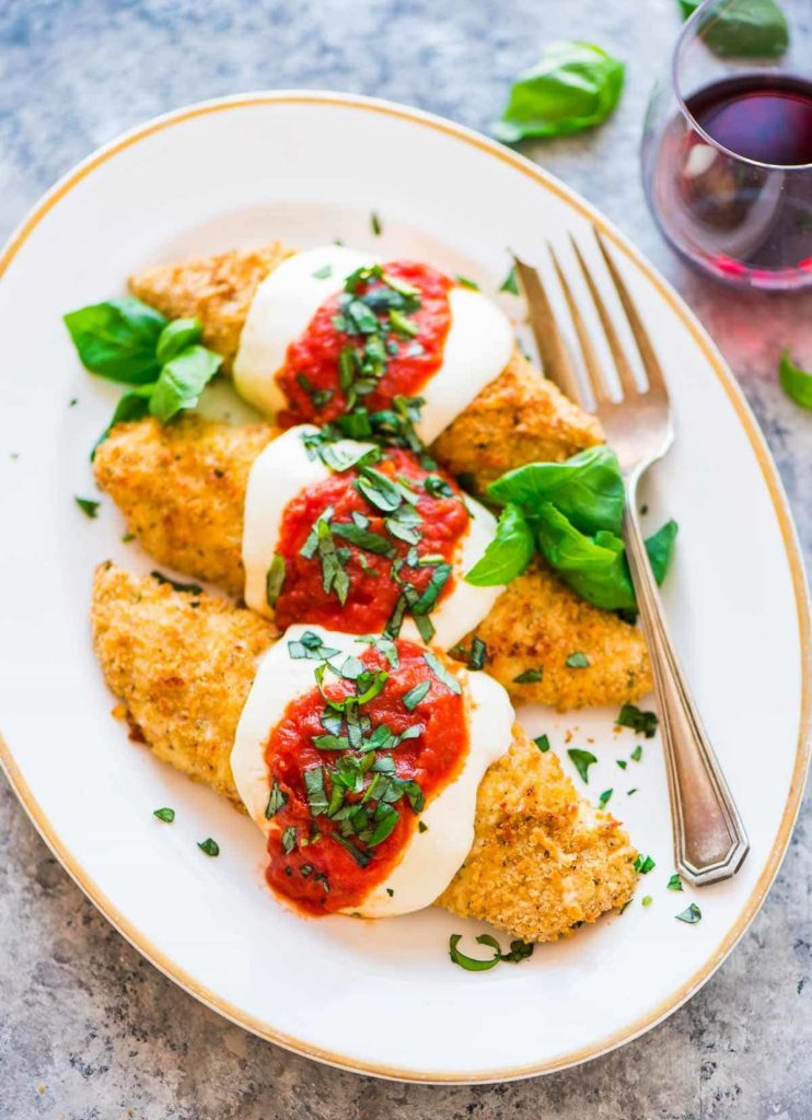 healthy backed chicken parmesan recipe