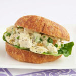 easy chicken salad croissant