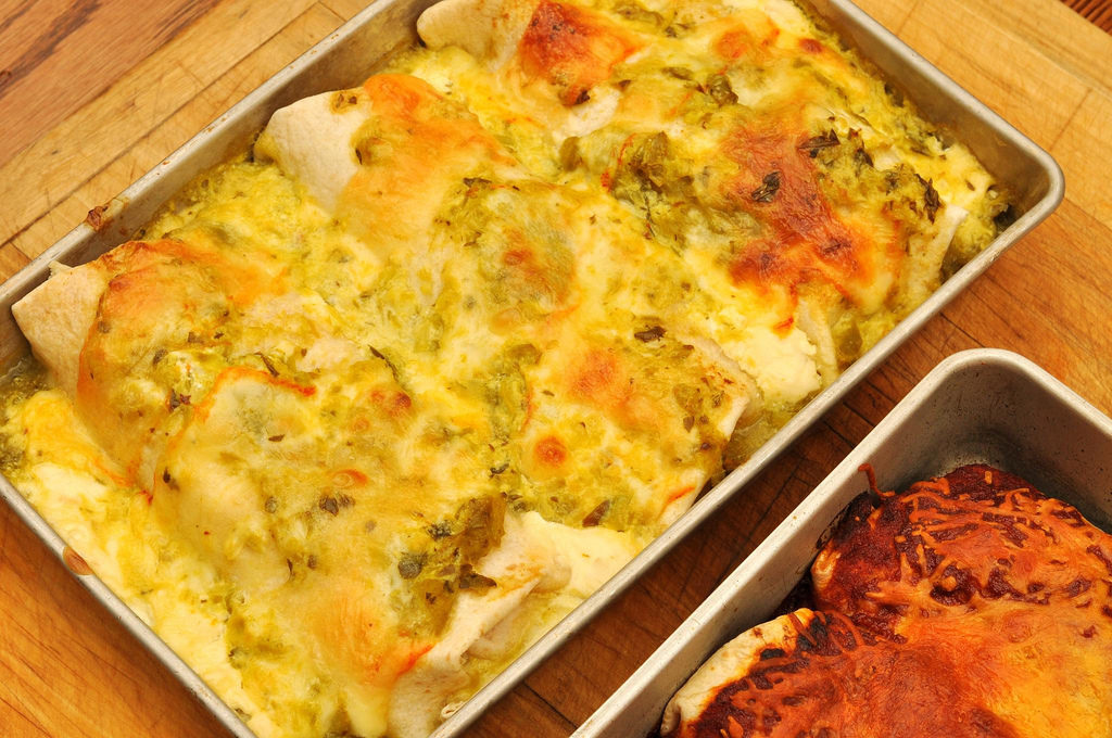 homemade chicken enchiladas recipes