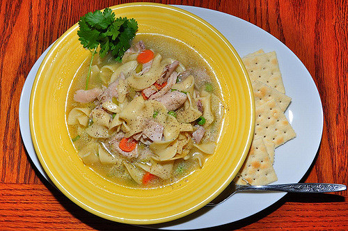 Easy tasty chicken noodle soup