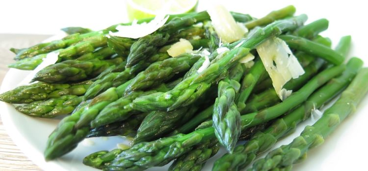 Top Garlic Parmesan Roasted Asparagus